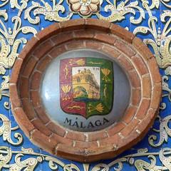 Azulejos. Escudo de Málaga. Plaza de Toros de Las Ventas (Madrid) (Juan Alcor) Tags: madrid mesa cerámica málaga azulejos escudo plazadetoros lasventas alfonsoromero