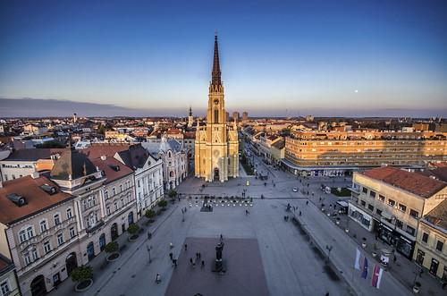 Novi Sad Gradski Gradski Trg Novi Sad