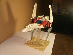 V-Wing (Vitoria Faria) Tags: starwars lego spaceship legostarwars vwing legospaceship