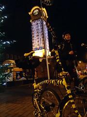 PAD: 23rd November 2013 (CrazyBee Photography) Tags: urban night photoaday brompton november2013 londonbromptonclub bromptonbumbleb 2013inphotos 365the2013edition project36612013 olympustoughtg2 ltmcyclingdec