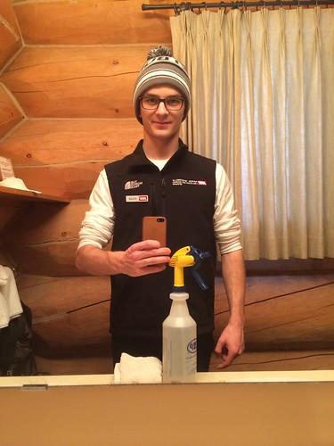 Housekeeping Selfie