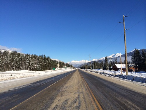 Highway 5, Blue River, BC