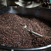 coffee in a roasting operations in harar