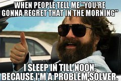 Howtodealwithregrets (Hoodie Dog) Tags: drunk drink sleep problem regret solve
