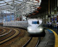 -  (CiccioNutella) Tags: station japan speed train high  shinkansen  fukuyama