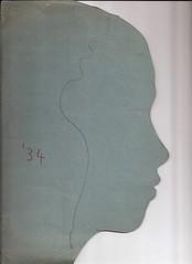 sanda-child-silhouette-cutout-1936 (fabola) Tags: family art sketch historic requiem maman benedicte sanda bossy florin