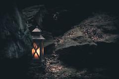 5/365 (Snowblind6 Photography) Tags: light black rock forest canon germany dark deutschland photography eos 50mm licht candle kerze ii sachsen lantern f18 dslr laterne wald ef schwarz dunkel felsen vogtland snowblind 60d snowblind6 snowblind6photo