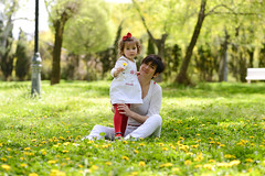 Mother and little girl playing in the park (javi_indy) Tags: life park family summer portrait people woman baby flower love nature girl beautiful smile field grass childhood smiling female garden season mom relax fun outside happy person togetherness countryside spring kiss couple picnic pretty child affection little outdoor joy daughter young mother meadow lifestyle happiness dandelion mum relationship together leisure