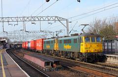 86632 / 86605 Colchester North (NB Railways) Tags: colchester skoda class90 90005 90013 90045 70016 86632 colchesternorth greateranglia abeliiograteranglia