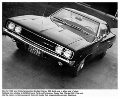 1968 The first Dodge Charger 500 (Rickster G) Tags: hardtop 1969 car ads se 1974 1971 flyer 60s muscle convertible super literature 1966 bee 1967 70s dodge 1970 1968 hemi mopar 500 daytona sales 1972 brochure coupe 440 1973 rt charger sixpack dealer 426 383 4406 bbody scatpack
