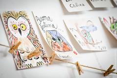 Etegami scritti dai visitatori