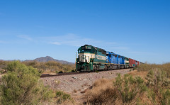 A long Day With the A & C - 1 (GRNDMND) Tags: arizona trains ac aguila sd45 emd sd452 arizonacalifornia