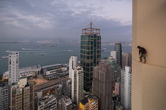 Rooftopper's Creed (tomms) Tags: city roof hongkong high harbour vertigo creed rooftopper rooftopping