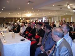 Sheikh attending a multifaith seminar in Sydney
