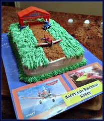 Plane cake by Vicki, Santa Cruz,CA, www.birthdaycakes4free.com