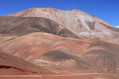 Pastel colours near Refugio El Peñon