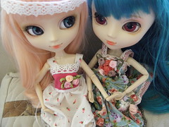 Mis dos niñas (Miss-Grant) Tags: wig pullip luts stica alicedujardin