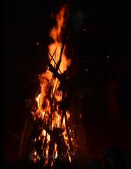 Bonfire (Holika) (Anjan05) Tags: india fire nikon nightshot flames bonfire maharashtra mumbai holi westernindia holika d7100 amchimumbai nikond7100 anjan05
