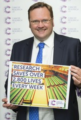 "Stephen Mosley MP joins Cancer Research UK campaign supporting the power of research • <a style=""font-size:0.8em;"" href=""http://www.flickr.com/photos/51035458@N07/13543483783/"" target=""_blank"">View on Flickr</a>"