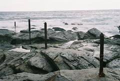 A135430_010A (Kirk Lorenzo) Tags: ocean statepark park ri travel sky water rock clouds outdoors travels rocks rhodeisland colorfilm beavertrail beavertrailstatepark