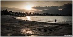 ...all'ombra di quell'ultimo sole (Claudio Di Dio) Tags: sea mare fuji ombra sicily sole palermo sicilia x20 mondello claudiodidio fujix20