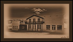 South Pass City Wyoming (the Gallopping Geezer 3.8 million + views....) Tags: park old bw white black building abandoned museum sepia canon town blackwhite village decay ghost structure historic mining faded worn western restored weathered wyoming oregontrail toned wildwest decayed geezer 2010 corel oldwest southpasscity