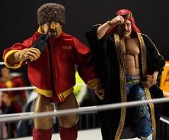 Volkoff and Sheik (jcmilone) Tags: toys wrestling actionfigures wwe wwf toyphotography nikolaivolkoff wwehalloffame theironsheik wrestlingfigures wweelite actionfigurepics