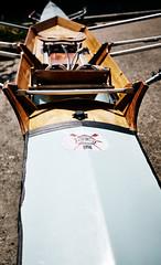 Rowing (delphinE-LB) Tags: wood france seine vintage boat rowing bateau bois ancien aviron cnf