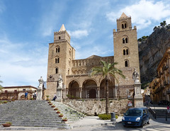 Cefalu, Dóm (ossian71) Tags: olaszország italy italia szicília sicily cefalu épület building műemlék sightseeing templom church középkori medieval