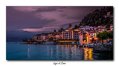 Lac de Côme (jldum) Tags: night nightshot lac lacdecôme water lake italie italia lombardie hdr