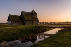 All is calm (James Waghorn) Tags: sigma1750f28exdcoshsm d7100 church water reflections romneymarsh bridge kent tree winter england fairfield nikon stthomasàbecketchurch
