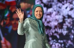 Maryam Rajavi's speech on Nowruz in the PMOI gathering-0
