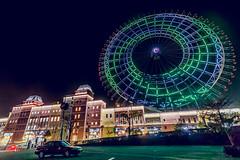 月眉摩天輪 (王宇信) Tags: sony a6000 e16mm sel16f28 taiwan 台灣 taichung 月眉 麗寶 outlet 摩天輪 ferriswheel 夜景 night