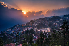 Sapa in the sunset (:: Focus Studio ::) Tags: vietnam sapa agriculture asia asian background beautiful beauty cloud colorful culture curve ecology environment ethnic farm farmer farming field fog food green ground harvest horticulture house land landscape mist mountain nature north plant plantation rice rought rural scene sky soil terrace transplant valley weather laocai