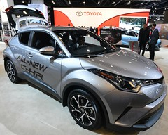Toyota C-HR (D70) Tags: toyota chr subcompact crossover suv produced 2017 vancouver international auto show