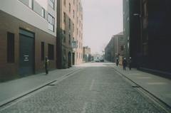Manchester (521) (benmet47) Tags: street city urban buildings architecture cobbles film zenit zenit12xp sirius sirius2828 canoscan9000f