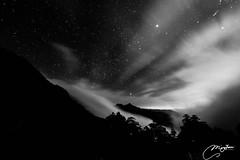 #032 #nantou #奇萊南峰3358m 2017.04.01 #奇萊南峰之夜 夜色雲霧散開之際,只見祢的黑,審視的目光射向山莊的每一人。 --------------------------------------------- 人生第一座百岳達成! 總計兩天走了35k 晚上體感溫度-8度根本睡不著 凌晨三點起床五件衣服四件褲子全副武裝登頂 總覺得這些事都是累人的 但看到不可取代的美景 和登頂當下的雀躍 所有的疲憊煙消雲散 就像最印象深刻的痛苦經歷 往往是往後最津津樂道的故事 #還有好多比照片更美