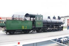 IMGP7789 (Alvier) Tags: schweiz graubünden rhb rhätischebahn landquart hauptwerkstätte tagderoffenentür triebfahrzeuge lokomotiven taufe triebzüge g45