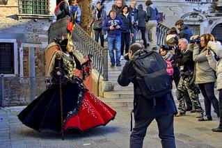 Venezia , il carnevale ... la protagonista ...