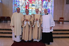 New Deacons with Seminary Rectors