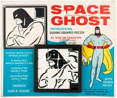 1960s Space Ghost sliding squares puzzle (Tom Simpson) Tags: spaceghost 1960s comics cartoons vintage puzzle