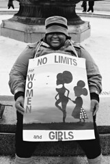 R1-007-2 (David Swift Photography Thanks for 21 million view) Tags: davidswiftphotography philadelphia womensmarchphiladelphia protest signs politicalsigns socialchange streetphotography streetportraits 35mm film ilfordxp2 nikonfm2