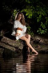 Отпускающая души нимф {2} (dewframe) Tags: girl cult worship sun water dramatic soul senses feel it like human