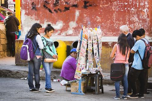 ..Freeze-frame ...Arrêt sur image..City of Ayacucho ...Peru