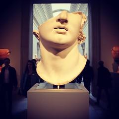 Greek Colossus Head - Metropolitan Museum Of Art NYC (Christian Montone) Tags: newyork newyorkcity city manhattan nyc montone christianmontone sculpture head colossus greek greece ancient ancientgreece hellenistic
