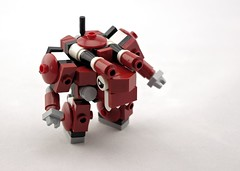 Twank Dragon (Deltassius) Tags: twank mobile frame zero mech mecha robot war military space lego