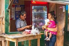Meat Stall (fotofrysk) Tags: meat knife vendor cutomer child carnivore cooler stall buyingmeat mercadocentral centralmarket underconstruction refurbishment centralamericatrip nicaragua leon sigma1750mmf28exdcoxhsm nikond7100 201702030036