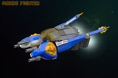 MAH3S fighter (01) (F@bz) Tags: lego moc sf space spacescene starfighter