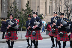 Toronto Police Pipe Band (Can Pac Swire) Tags: toronto ontario canada canadian irish stpatricksday parade people man women woman men children bloorstreet west w avenueroad culture cultural aimg6876 police pipe band