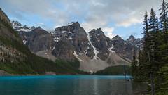 Fishing at Moraine (Ken Krach Photography) Tags: lakemoraine banffnationalpark